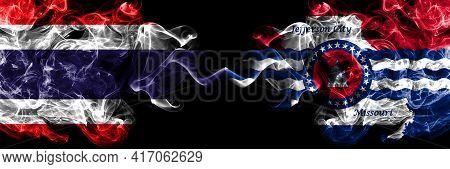 Thailand, Thai Vs United States Of America, America, Us, Usa, American, Jefferson City, Missouri Smo