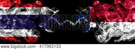 Thailand, Thai Vs United States Of America, America, Us, Usa, American, North Carolina Smoky Mystic