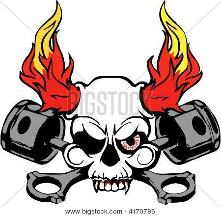 Auto Skul Flames