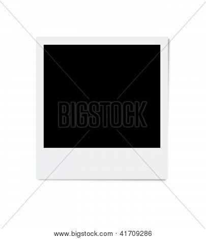 Isolated photo frame