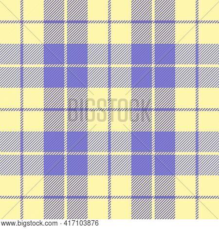 Easter Tartan Plaid. Pattern Scottish Cage