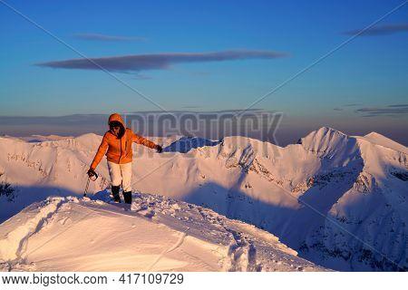 Climbing in the Transylvanian Alps, Carpathians, Romania, Europe