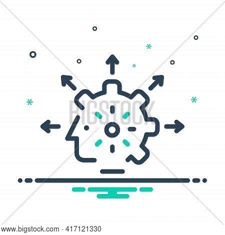 Mix Icon For Capabilities Capacitation Ability Caliber Capability