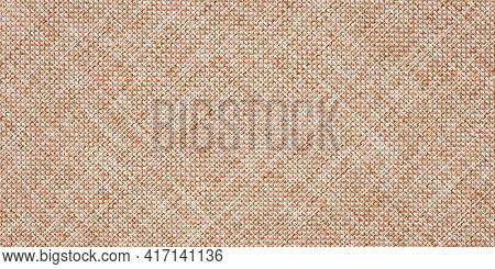 Burlap Texture, Canvas Cloth, Light Brown Woven Rustic Bagging. Natural Hessian Jute, Beige Textile