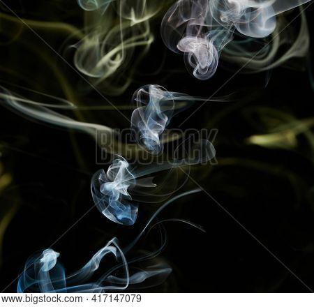 Abstract Smoke Curve