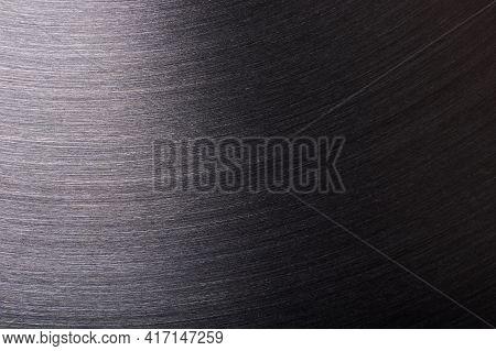 Round Brushed Metal Surface