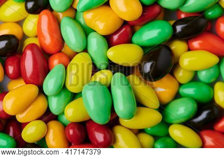 Colorful Round Sweet Glaze Candy