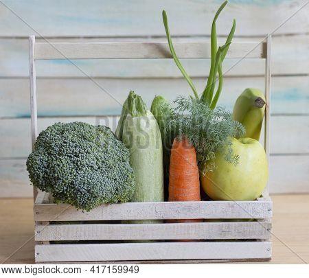 Healthy Eating. Home-grown Vegetables. Fresh Organic Vegetables. Colorful Vegetable. Healthy Vegetab