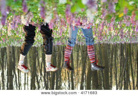 Feet In Flowers