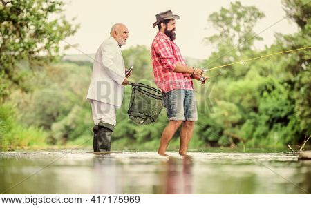 Good Angler Respects Natural Resources. Fish Should Never Be Wasted. If Catch Fish That Is Under Leg