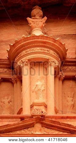 Nabatean Architecture Detail Of
