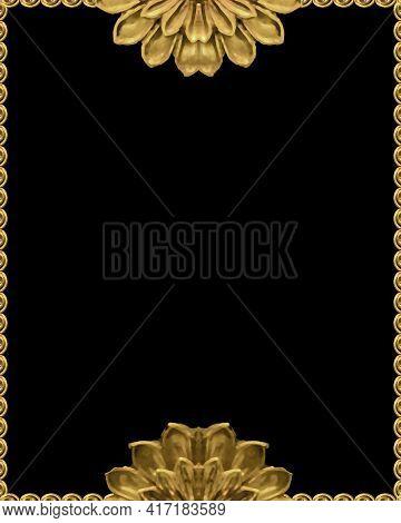 Minimal Style Floral Decorative Background