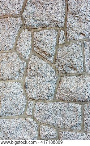 Grey Granit Rocks Texture Background. Granit Wall Texture