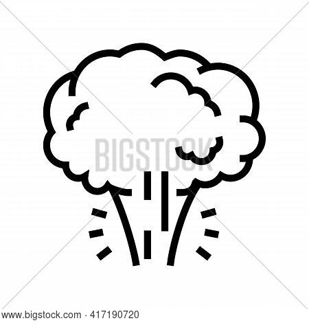 Aggregate State Water Line Icon Vector. Aggregate State Water Sign. Isolated Contour Symbol Black Il
