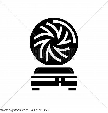 Ball Astrological Glyph Icon Vector. Ball Astrological Sign. Isolated Contour Symbol Black Illustrat