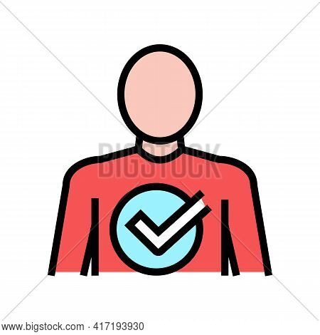 After Bariatric Color Icon Vector. After Bariatric Sign. Isolated Symbol Illustration