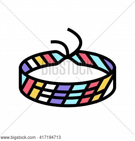 Baubles Jewellery Color Icon Vector. Baubles Jewellery Sign. Isolated Symbol Illustration
