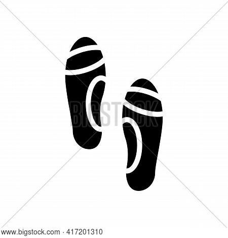 Orthopedic Insoles Line Icon Vector. Orthopedic Insoles Sign. Isolated Contour Symbol Black Illustra