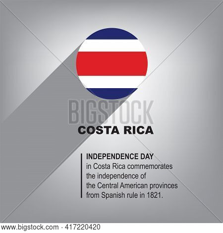 Holiday Independence Day In Costa Rica Celebrated On September 14