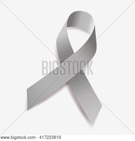 Grey Ribbon Awareness Brain Tumors, Allergies, Brain Cancer, Asthma, Diabetes, Aphasia, Mental Illne