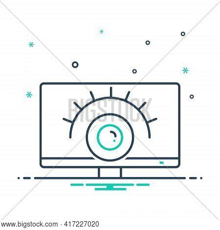 Mix Icon For Surveillance-services  Surveillance Services  Observation