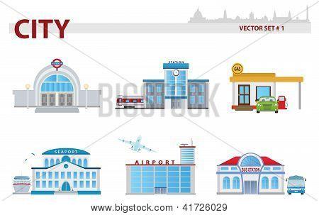 Public Building. Set 1