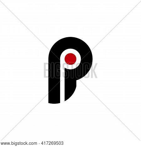 Illustration Vector Design Graphic Of Logo Letter Pi
