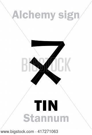 Alchemy Alphabet: Tin (stannum / Stagnum, Plumbum Album; Cassiterum), One Of Seven Ancient Metals; E