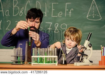 Back To School. Cognitive Skills. Teacher Child Test Tubes. Cognitive Process. Kids Cognitive Develo