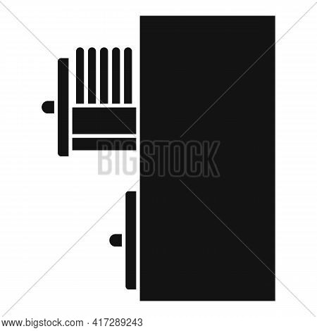 Drawer Storage Documents Icon. Simple Illustration Of Drawer Storage Documents Vector Icon For Web D