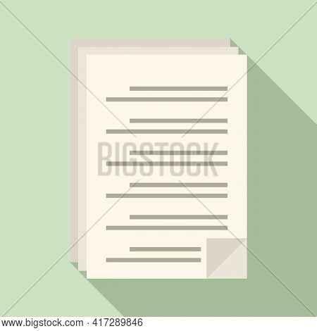To-do List Icon. Flat Illustration Of To-do List Vector Icon For Web Design