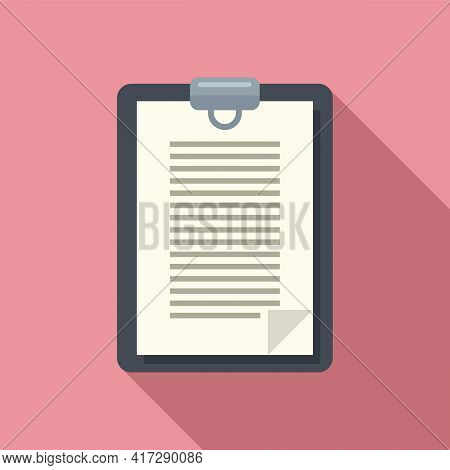 To-do List Important Icon. Flat Illustration Of To-do List Important Vector Icon For Web Design