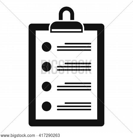 To-do List Reminder Icon. Simple Illustration Of To-do List Reminder Vector Icon For Web Design Isol