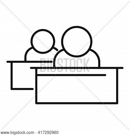 Partial Inclusion Icon. Outline Partial Inclusion Vector Icon For Web Design Isolated On White Backg