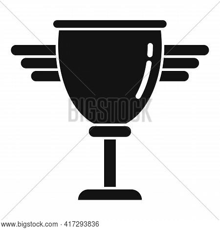 Personal Trainer Cup Icon. Simple Illustration Of Personal Trainer Cup Vector Icon For Web Design Is