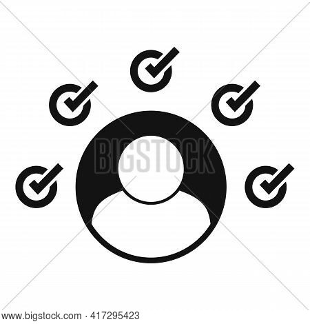 Multiple Personal Traits Icon. Simple Illustration Of Multiple Personal Traits Vector Icon For Web D