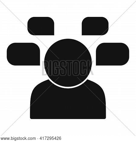 Question Personal Traits Icon. Simple Illustration Of Question Personal Traits Vector Icon For Web D
