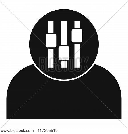 Founder Personal Traits Icon. Simple Illustration Of Founder Personal Traits Vector Icon For Web Des