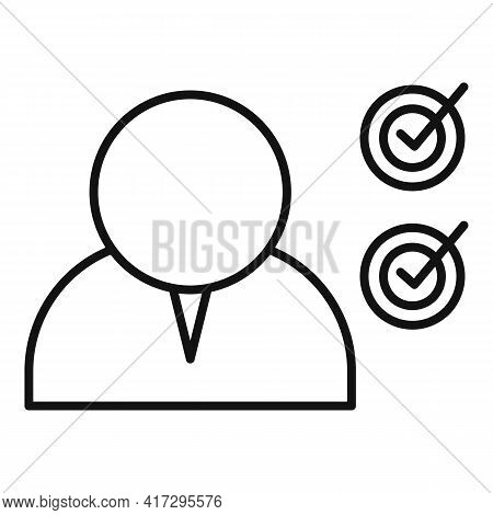 Modern Personal Traits Icon. Outline Modern Personal Traits Vector Icon For Web Design Isolated On W