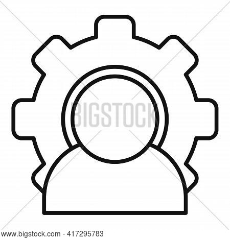 Business Personal Traits Icon. Outline Business Personal Traits Vector Icon For Web Design Isolated