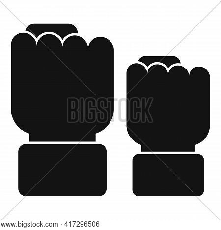 Empowerment Fist Icon. Simple Illustration Of Empowerment Fist Vector Icon For Web Design Isolated O