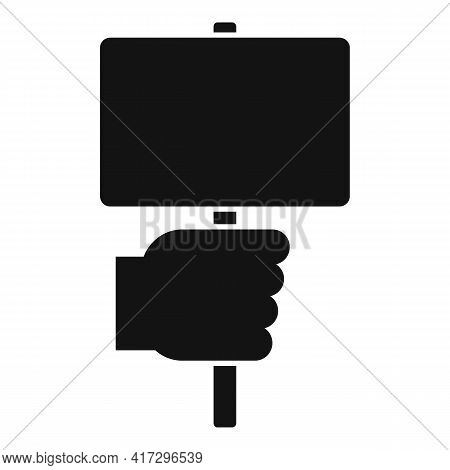 Empowerment Sign Board Icon. Simple Illustration Of Empowerment Sign Board Vector Icon For Web Desig