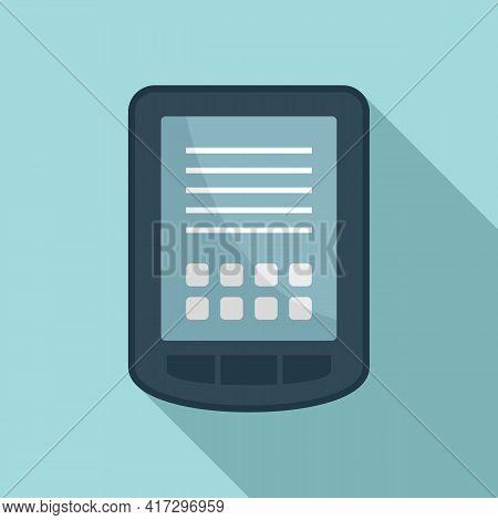 Tablet Operating System Icon. Flat Illustration Of Tablet Operating System Vector Icon For Web Desig
