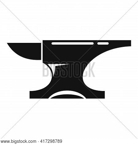 Metallurgy Anvil Icon. Simple Illustration Of Metallurgy Anvil Vector Icon For Web Design Isolated O