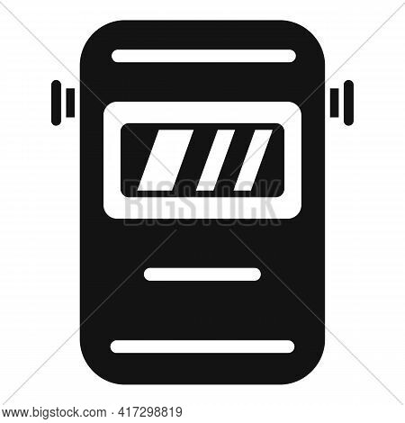 Welder Mask Icon. Simple Illustration Of Welder Mask Vector Icon For Web Design Isolated On White Ba
