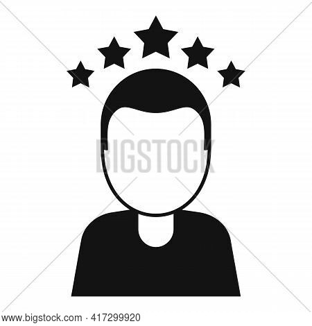 Attestation Rating Icon. Simple Illustration Of Attestation Rating Vector Icon For Web Design Isolat