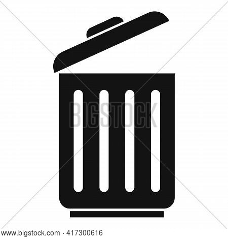 Recycle Bin Space Organization Icon. Simple Illustration Of Recycle Bin Space Organization Vector Ic
