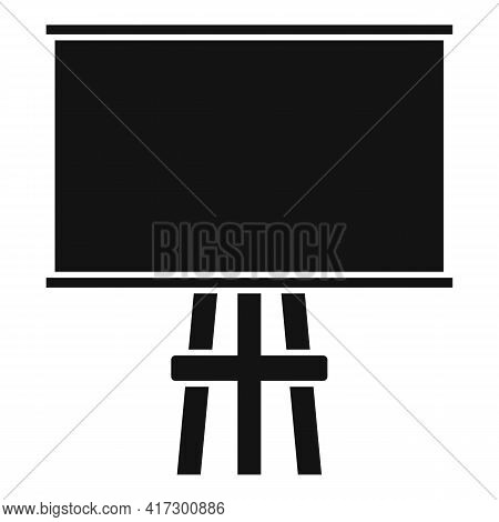 Wood Board Icon. Simple Illustration Of Wood Board Vector Icon For Web Design Isolated On White Back