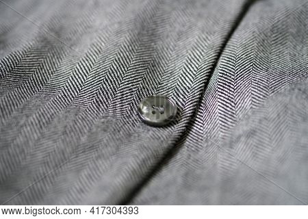 Wool Coat, Wool Coat Pattern, Close-up Wool Coat.