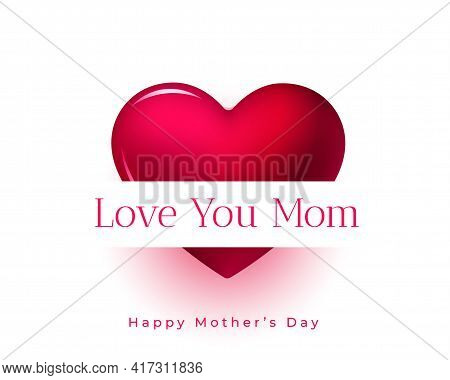 Mother Day Greeting With Love You Mom Message